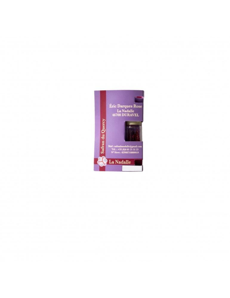 Safran du Quercy 0.2 gr. BIO