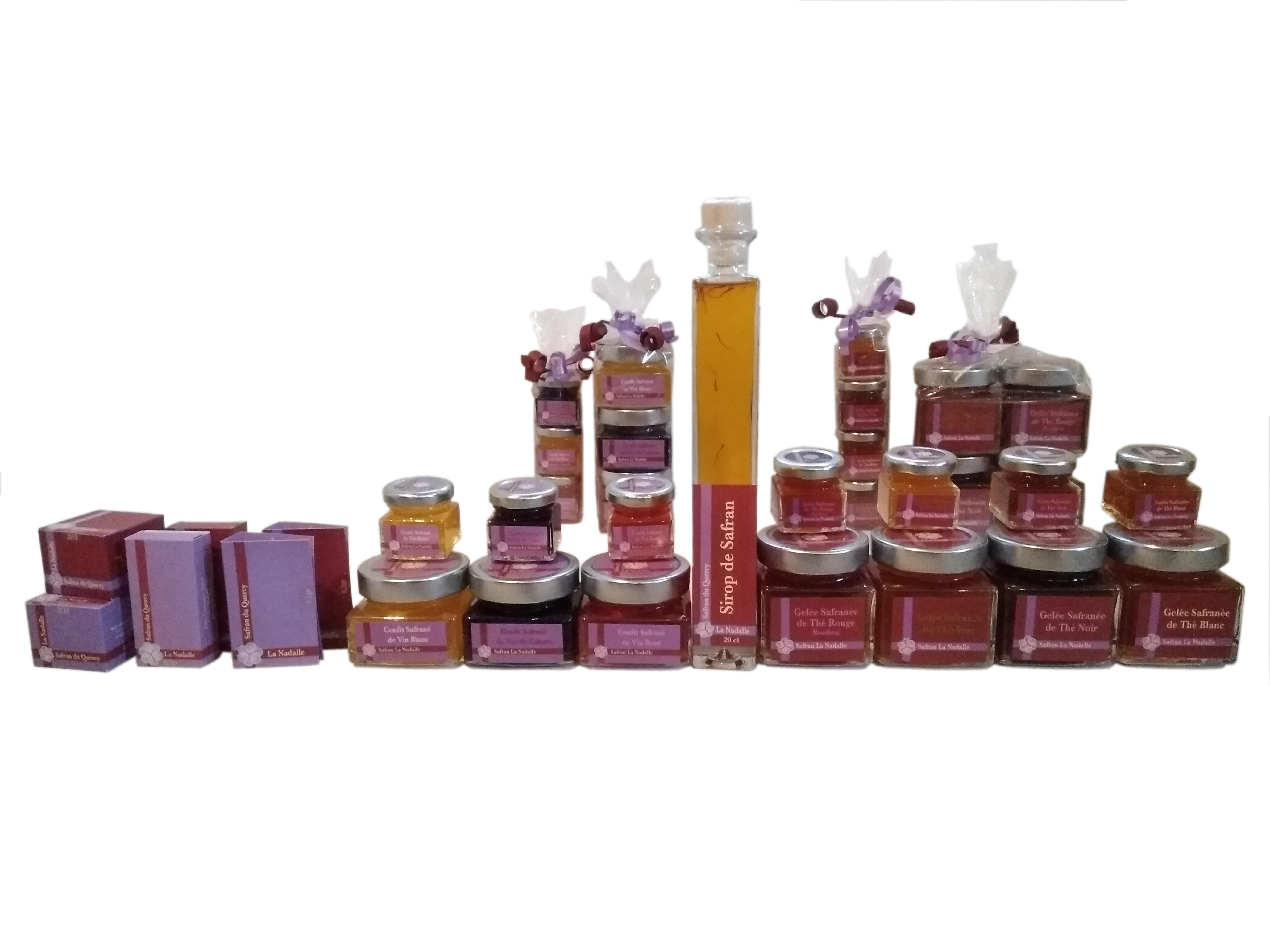 Notre gamme de produits