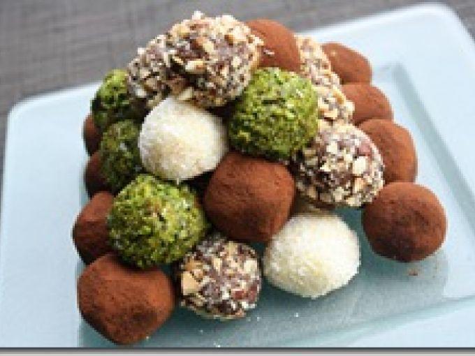 truffe chocolat safran