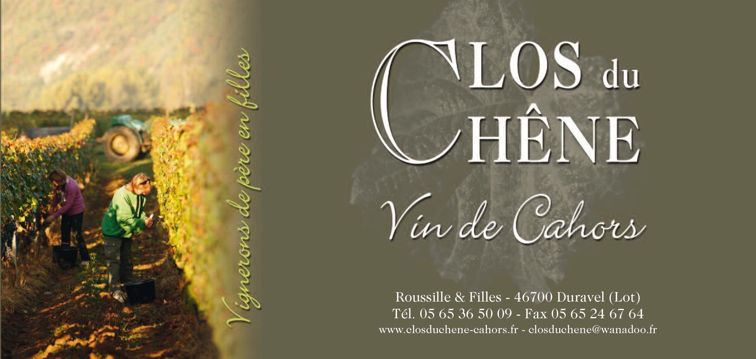 Safran La Nadalle élaborés avec les vins Clos du Chêne